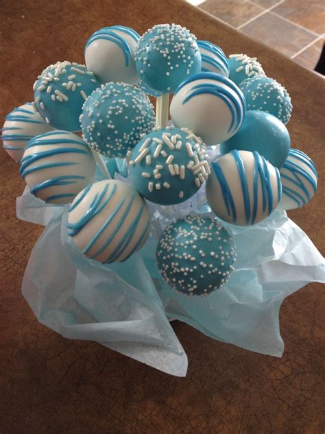 Baby Boy Baby Shower Cake Pops by Muyameno Popcakes Para Baby Shower Parte 2