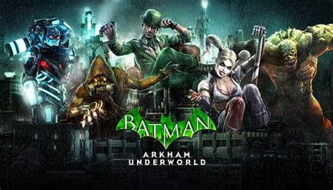 Batman Arkham World batman arkham underworld lance sa disponibilit 233 en vid 233 o