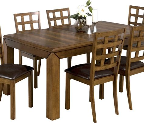 Houzz Dining Tables Jofran 737 Wenatchee Falls Walnut Rectangular Dining Table With Leaf Traditional Dining