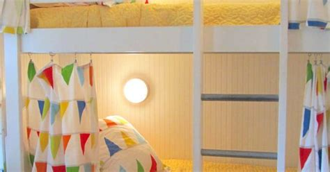 ikea pennant curtains i love the idea of bunk bed curtains on regular bunk beds