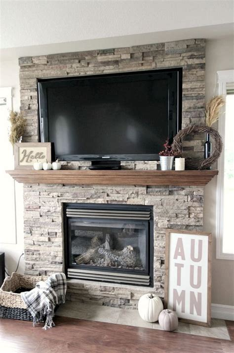 stone fireplace decor 17 best ideas about stacked stone fireplaces on pinterest