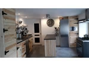 marvelous idee avec des palettes 4 meuble cuisine en palette - Meuble De Cuisine En Palette