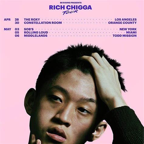 NHBL   Rich Chigga Announced His Upcoming US Tour This April