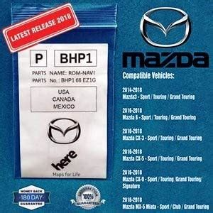 product review  latest  mazda navigation sd card map chip gps version bhpezf