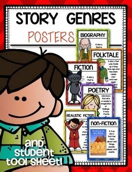 biography books for kindergarten genre posters for the first grade and kindergarten