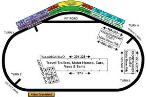 talladega florida map talladega speedway dome seating chart ticket solutions