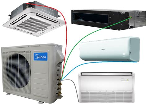 Ac Lg Multi Split mini split systems ductless mini split air conditioner