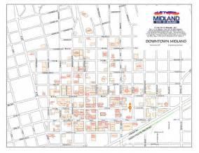 maps midland downtown midland map midland mappery