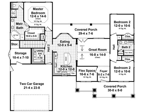 House Plans Kitchen In Front by House Plan 55603 At Familyhomeplans