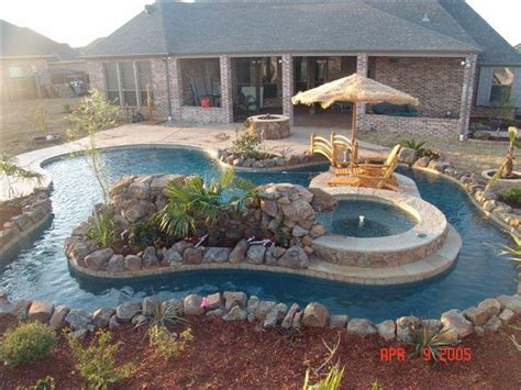 backyard river design pools gallery robertson pools inc coppell tx 972 393