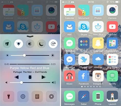 control center themes ios 9 ios 9 3 3 jailbreak die besten themes f 252 r euer iphone