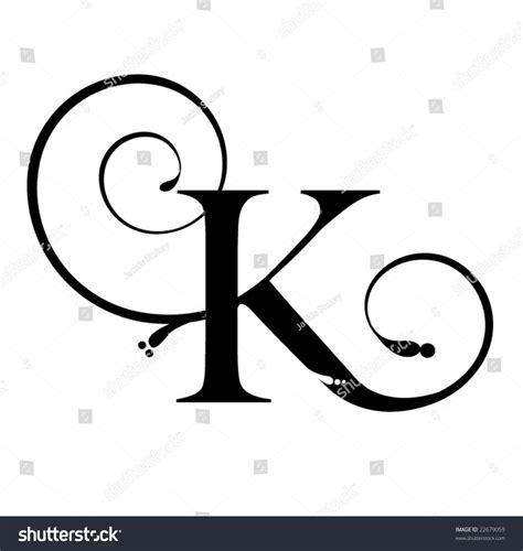 letter k stock vector 22679059 shutterstock
