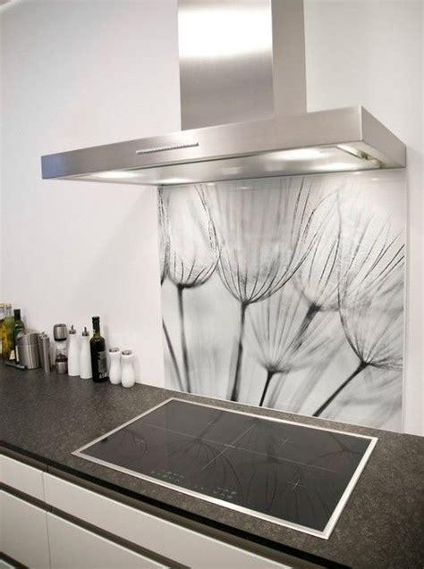 vinilos wish dandelion wish printed glass splashback from
