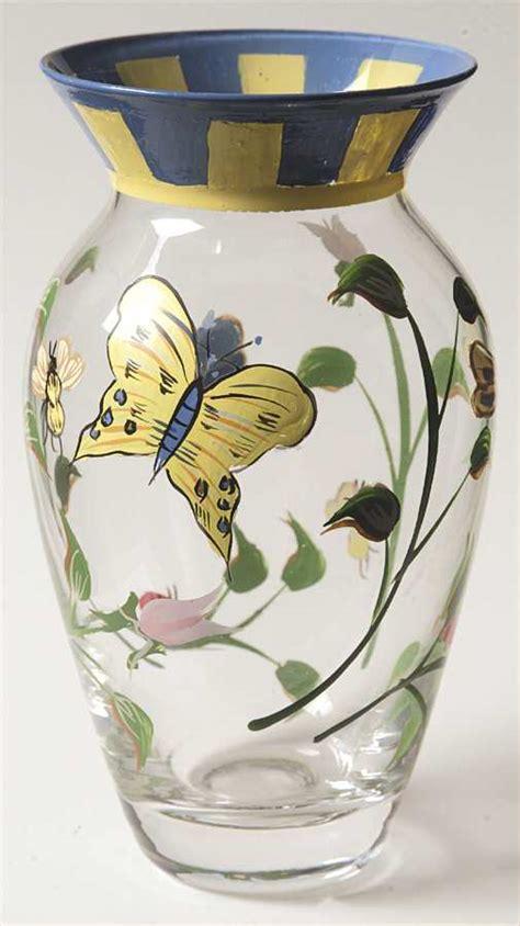 Lenox Butterfly Meadow Vase by Lenox Butterfly Meadow Handpainted 6 Quot Flower Vase