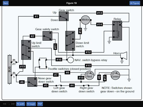 aircraft landing gear wiring diagram wiring diagram with