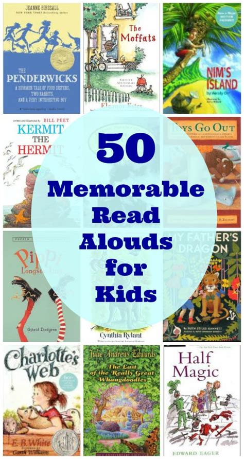 read picture books 50 favorite read aloud picture and chapter books