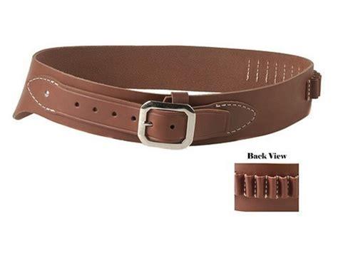 oklahoma leather cowboy drop loop cartridge belt 38 357