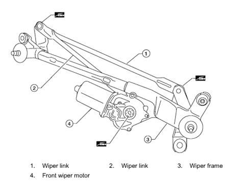 windshield wiper assembly diagram repair guides windshield wipers washers windshield