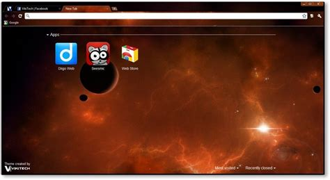 vans theme for google chrome google chrome themes cosmic fringe space themes