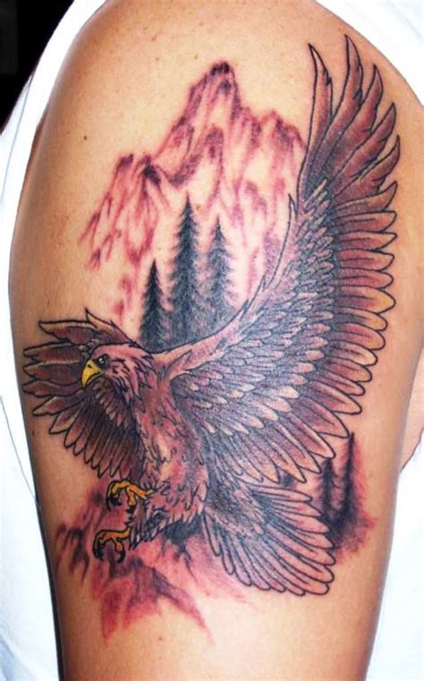 american eagle tattoos designs ideas and meaning