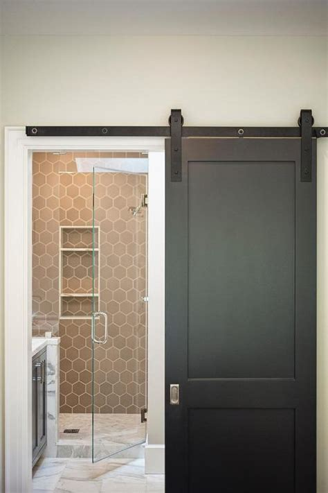 sliding door bathroom interior design inspiration photos by lindsay chambers