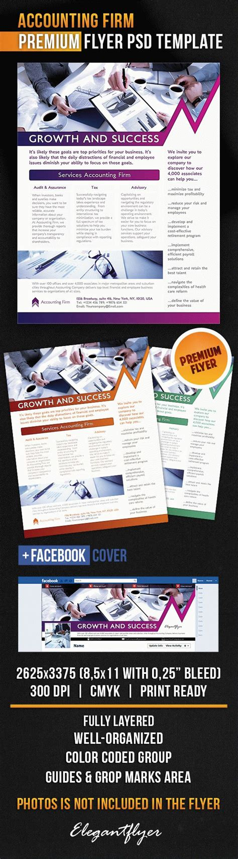 Accounting Firm Flyer Psd Template By Elegantflyer Free Accounting Flyers Templates
