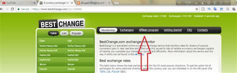 tutorial website earning bestchange com review earn 10 daily if anybody visits