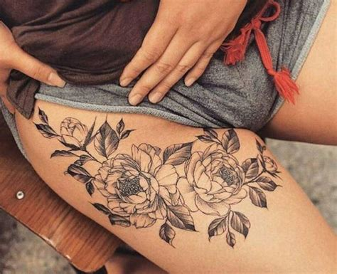 women s upper thigh tattoos best 25 thigh tattoos ideas only on