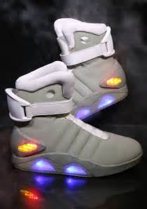 official back to the future ii light up shoes now 590