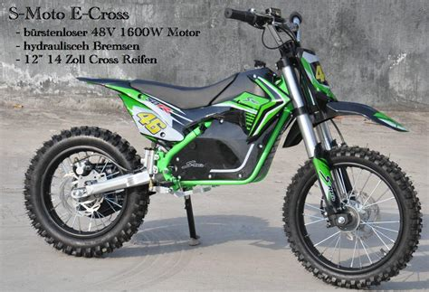 Elektro Motocross Kinder by Elektro Kinder Motocross Sm C 48 1600 12 48 Volt 1600