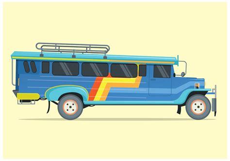 philippines jeepney vector free jeepney illustration vector download free vector