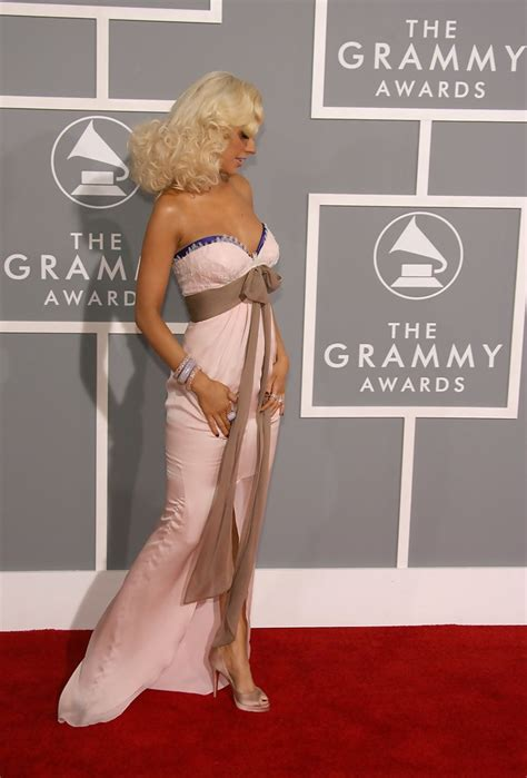 The 49th Annual Grammy Awards by Aguilera In 49th Annual Grammy Awards Arrivals