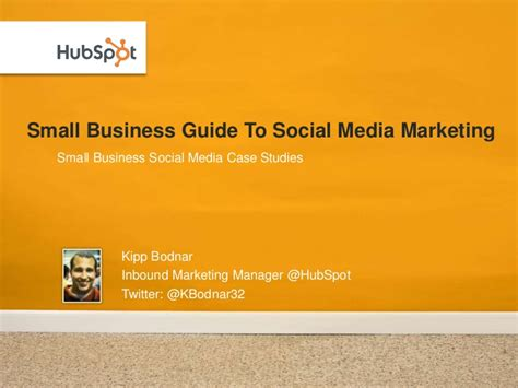 Small Home Business Guide Small Business Guide To Social Media Marketing