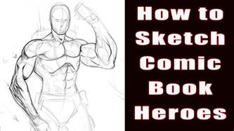 book sketch your world how to draw comic book heroes