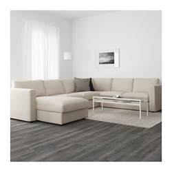 Dark Sofas Vimle Corner Sofa 5 Seat With Chaise Longue Gunnared