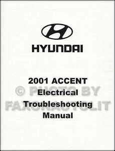 hyundai accent electrical troubleshooting manual