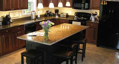 Kitchen Island Cart With Breakfast Bar by Granite Brackets Hidden Countertop Brackets And