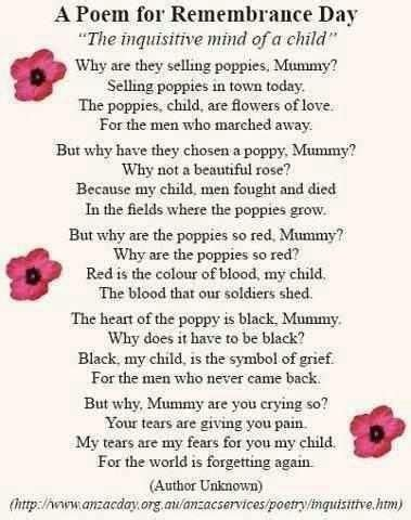 remembrance day poems google search education la poetry pinterest