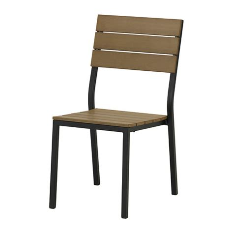 ikea patio chairs falster chair outdoor black brown ikea
