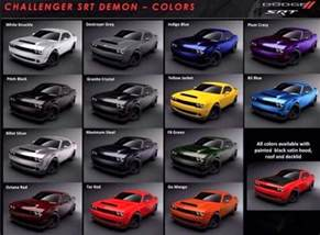 Color Dodge News Dodge In All 14 Colors