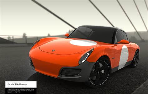 Porsche Talent Network by 914 Concept By Nathan At Coroflot