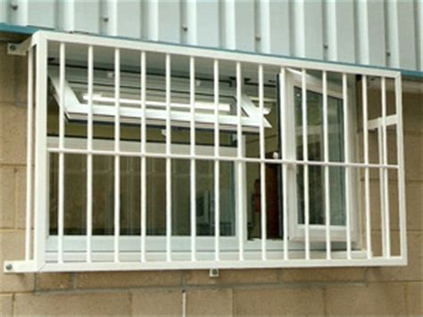 security grilles for businesses made window and
