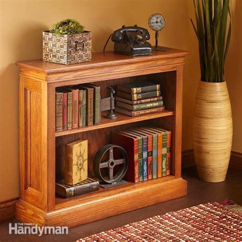 build  bookshelf  family handyman