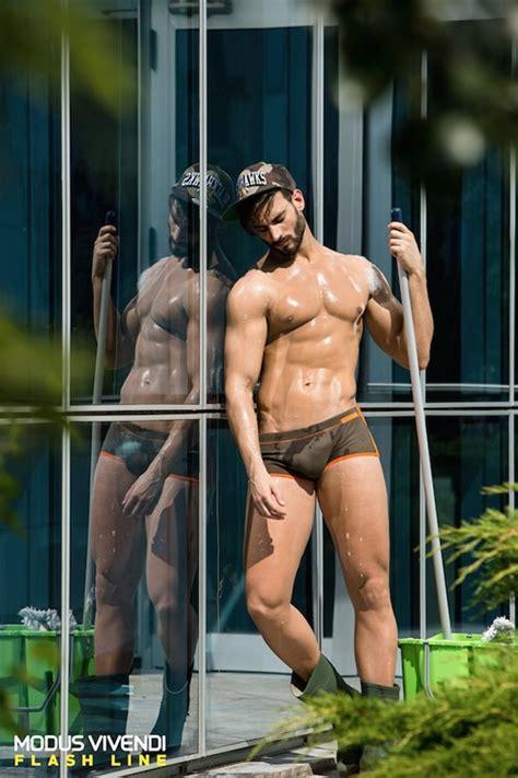 quick bathroom sex alexandros kaltsidis shirtless greek model modus