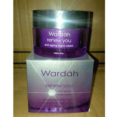 Harga Pagi Dan Malam Merek Wardah beautifull wardah white secret renew you anti anging