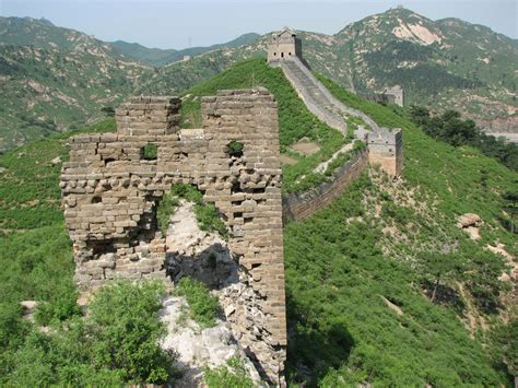 great wall sections jiumenkou great wall pictures
