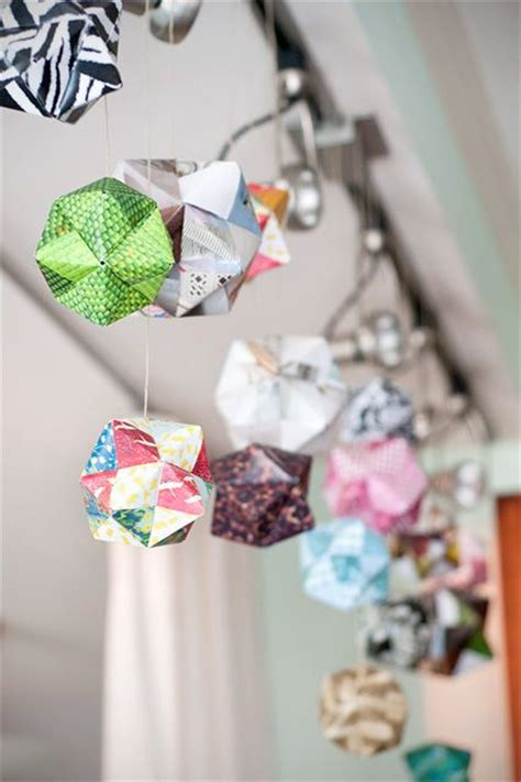 Origami Birthday Decorations - best 25 origami garland ideas on origami