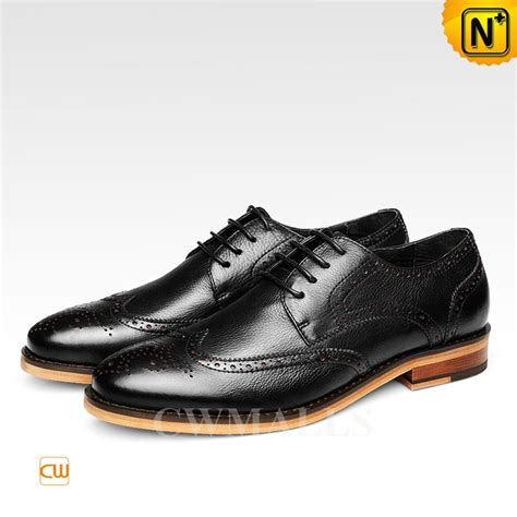 Handmade Leather Brogues - handmade derby brogue shoes cw716248