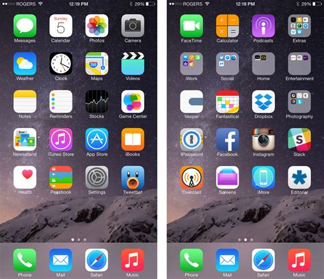 homescreen layout iphone 6 what s on rene s iphone 6 plus right now imore