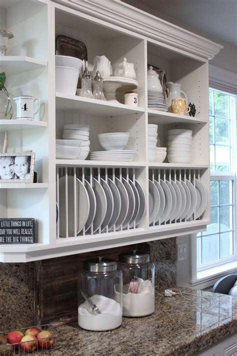 open shelving under cabinets kitchen pinterest open open kitchen cabinets is also a great alternative to